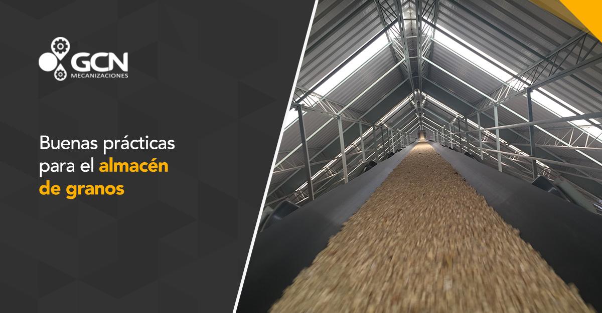 Buenas prácticas para el almacén de granos