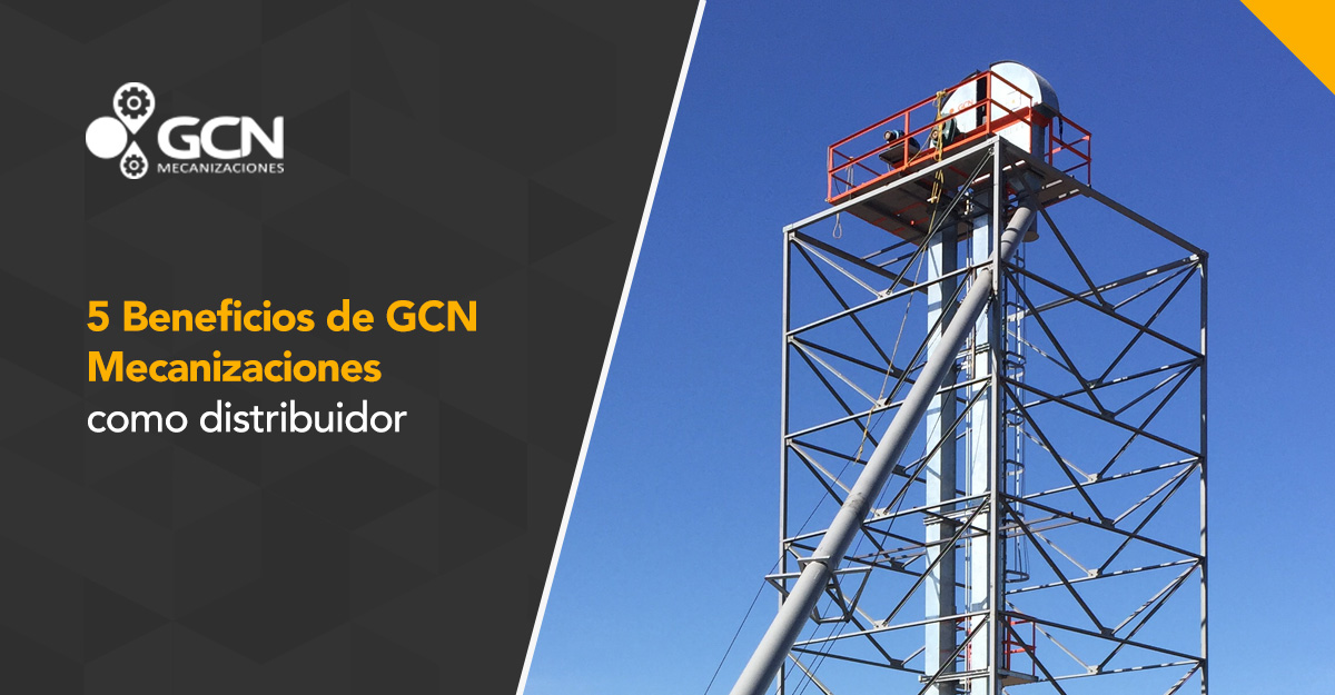 5 Beneficios de GCN Mecanizaciones como tu proveedor de equipos para manejo de graneles