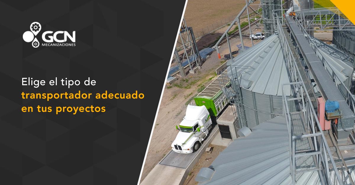 Elige el tipo de transportador adecuado en tus instalaciones de proyectos