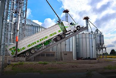 Volcadores de camiones y trailers